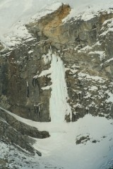 Ice fall on Sukakpak Mountian