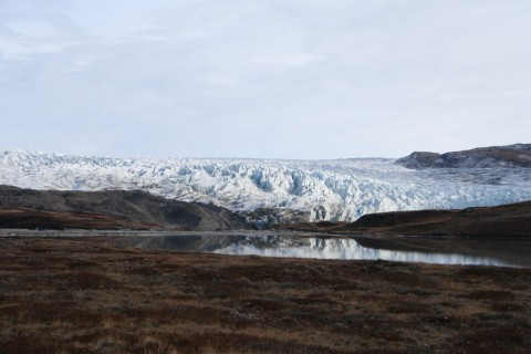 Glacier from the ice sheet