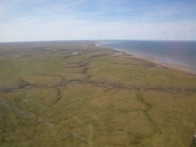 Northern shoreline of Yamal