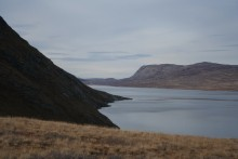 Long lake near Kangerlusuaq